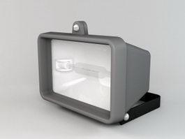 Halogen Lamp 3d preview