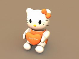 Hello Kitty 3d preview