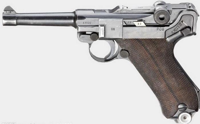 German Luger Pistol 3d rendering