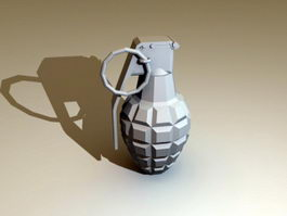 Hand Grenade 3d preview