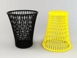 Waste Basket 3d preview