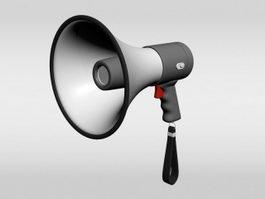 Megaphone Loudspeaker 3d preview