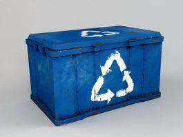 Waste Dumpster 3d preview