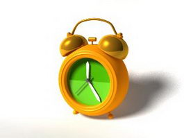 Cute Alarm Clock 3d preview