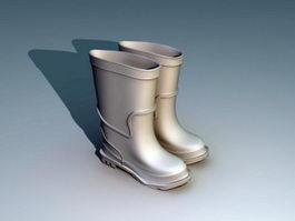 Rain Boots 3d preview