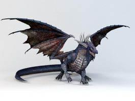 Black Dragon 3d preview