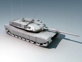 M1 Abrams Battle Tank 3d preview