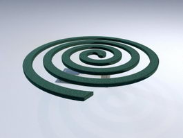 Mosquito Coil 3d preview
