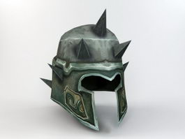Middle Age Helmet 3d preview