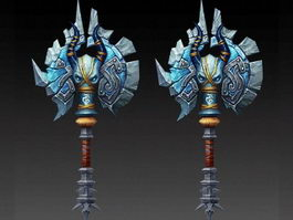 Evil War Axe 3d preview