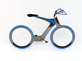 Futuristic Bicycle 3d preview