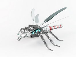 Robot Dragonfly 3d preview