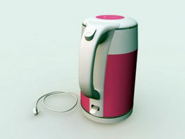 Electric Kettle 3d preview