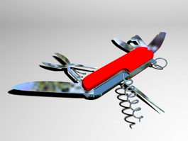 Swiss Army Knife 3d preview
