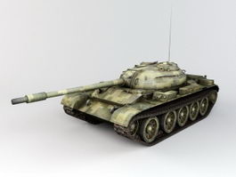 Type 59 Tank 3d preview