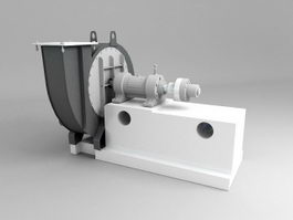 Centrifugal Fan 3d preview