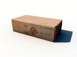 Cardboard Box 3d preview