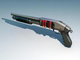 Mossberg 500 Shotgun 3d preview
