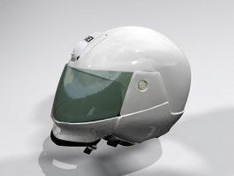 Motorcycle Helmet 3d model preview