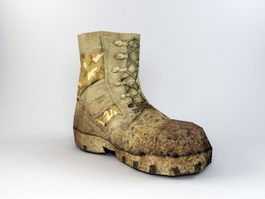 Old Army Boots 3d preview