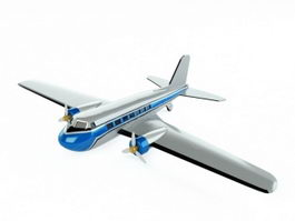 Cartoon Plane 3d preview