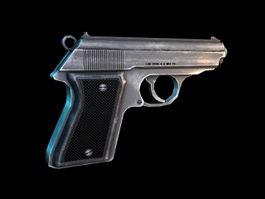 Hand Pistol 3d preview