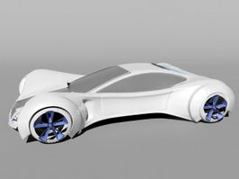 Future Sports Car 3d preview