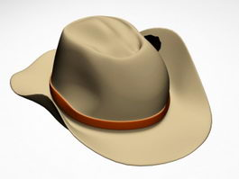 Cowboy Hat 3d preview