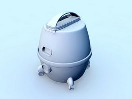 Home Vacuum Cleaner 3d preview