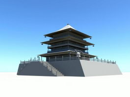 Bell Tower of Xi'an 3d preview