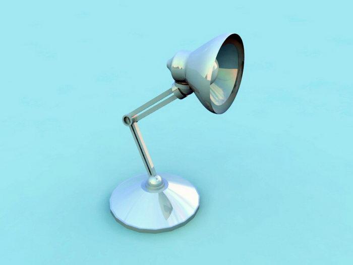 Floating Arm Lamp 3d rendering