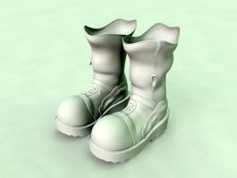 Pair of Boots 3d model preview