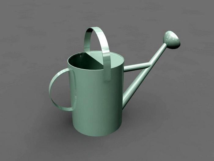 Vintage Watering Can 3d rendering