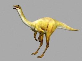 Gallimimus Dinosaur 3d preview