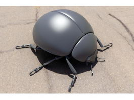 Alder Leaf Beetle 3d preview