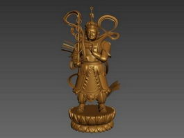 Statues of the Heavenly King 3d preview