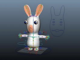Raving Rabbids Rig 3d preview