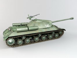 Iosif Stalin Tank 3d preview