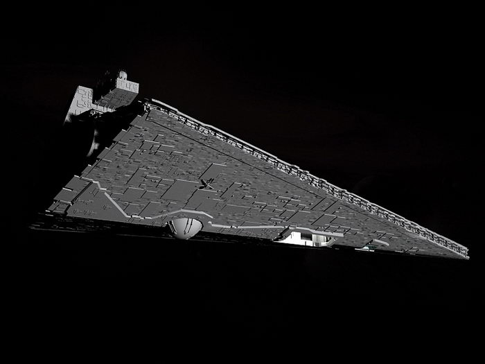 Imperial-class Star Destroyer 3d rendering