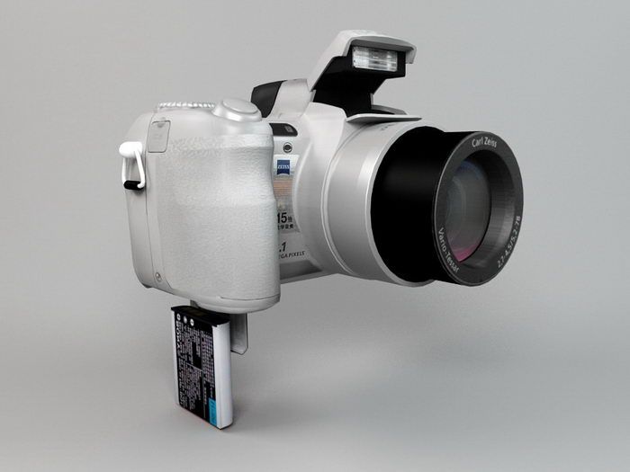 Sony Cyber-shot H7 Camera 3d rendering