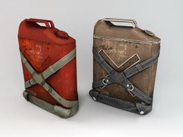 Vintage Jerrycan 3d preview
