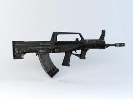 QBZ-95 Light Rifle 3d preview