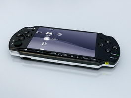 PSP-3000 3d preview