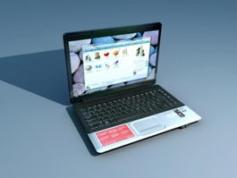 Compaq Presario CQ45 3d preview
