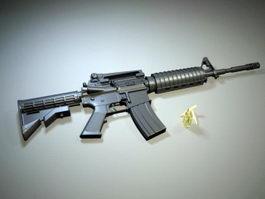 M4A1 Carbine Assault Rifle 3d preview