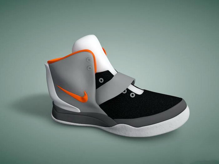 Nike Hyperdunk Basketball Shoe 3d rendering