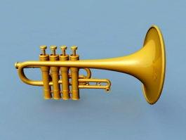 Piccolo Trumpet 3d preview