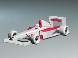 Ferrari F399 Formula One Racing Car 3d preview