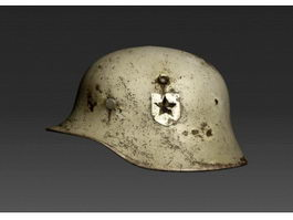 WW2 Military Helmet 3d preview