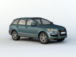 Audi Q7 Luxury SUV 3d preview